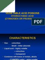 Vegetable Acid Poisons