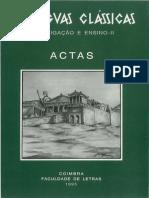 As Línguas Clássicas II. Investigação e Ensino_1995 (1)