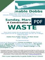 """""""Waste"""" Community Conversation"""