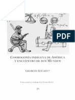 3 Cosmogonia Indigena de America George Baudot