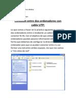 Conexion Entre Dos Ordenadores Con Cable UTP, Jonatan Galvez