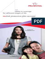 PRUlink Protection Plus Account EBrochure English