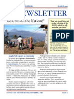 The Torch Urban Ministries Newsletter
