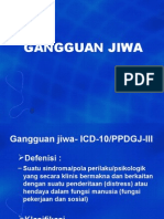 JENIS GANGGUAN JIWA (dr. Syahrial) 1.ppt