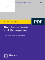 Unbribable Bosnia and Herzegovina. The Fight for the Commons