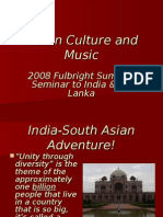 Indian Culture Music