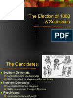 election of 1860   secession