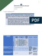 Programacion Curricular Anual de Hge 4º Ccesa1156