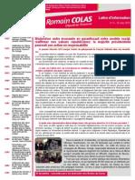 Newsletter de Romain Colas n°3 - 16 mars 2015