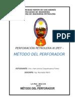 Método Del Perforador