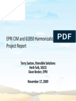 CIM and 61850 Harmonization 102909