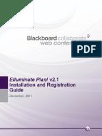 Blackboard Collaborate Plan! Installation and Registration Guide