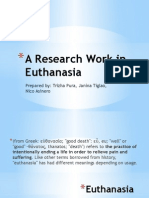 A Research Work in Euthanasia
