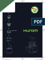 Hurom+HU-500+DG+manual+English