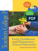 Teachers College Press, Early Childhood and Elementary School Education