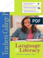 Teachers College Press, Language and Literacy