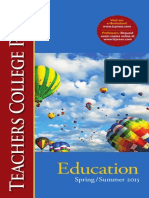 Teachers College Press, Education
