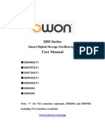Sds Series User Manual