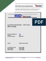 Sapscript SAPScript BillOfLading Documentnt v1.0