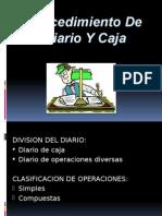 Procedimiento de Diario Y Caja Completa