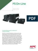 UPS - Especificaciones Técnicas