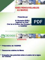 Ressources Solaires Au Maroc