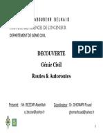 DECOUVERTE Génie Civil Routes & Autoroutes
