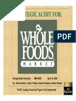 Wholefoods Presentation