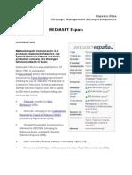 Case Study MediaSet Espana