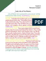DailyLife Paragraph SuzieQ