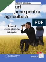 Raport Recent APLICA PE Fonduri Europene Agricultura