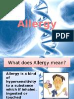 Allergy Presentacion