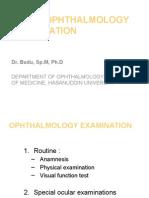 Basic Ophthalmology Examination
