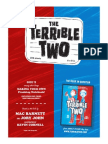 The Terrible Two Activity Guide