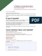 C Type Def