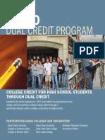 Idaho Dual Credit Brochure