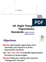 u5 wk 4a   right triangle trig notes