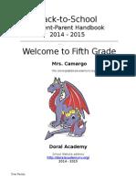 camargo 2014 parent handbook