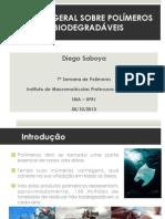 30 13.45 Polímeros Biodegradáveis