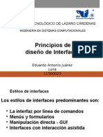 Principios de Interfaces
