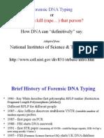 Intro to DNA Profiling.greg.Hampian