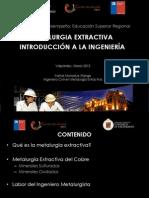 PMI1301 - Procesos de Metalurgia Extractiva - Introducción a La Ingenieria