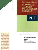 Econom i a Agra Ria Sierra