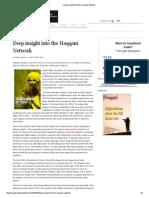 Deep Insight Into the Haqqani Network
