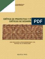 Critica de Proyectos y Proyectos Críticos de Desarrollo. Jorge Gasche (Editor)