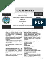 Derecho Procesal Constitucional Código 220