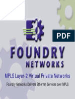MPLS Layer-2 Virtual Private Networks