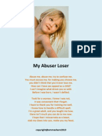 'My Abuser Loser'