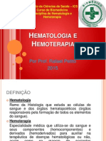 Aula 1 Hematologia e Hemoterapia2015