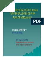 3 LMP ECA Agua Efluentes Mina OA